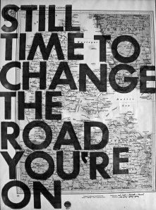change the road on