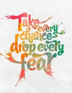 Fear drop it